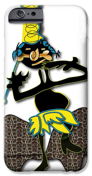 IPhone 6 Case featuring the digital art Tribal Medicine Doctor  by Marvin Blaine