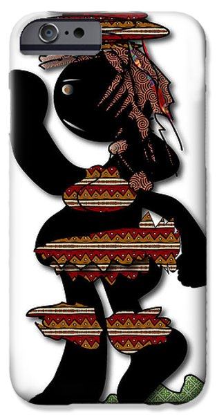 IPhone 6 Case featuring the digital art African Dancer 7 by Marvin Blaine