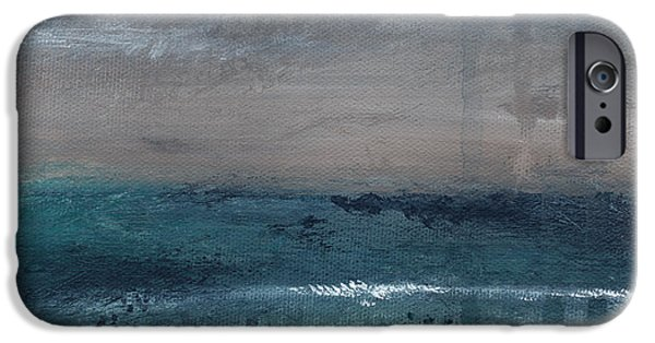After The Storm- Abstract Beach Landscape IPhone 6 Case