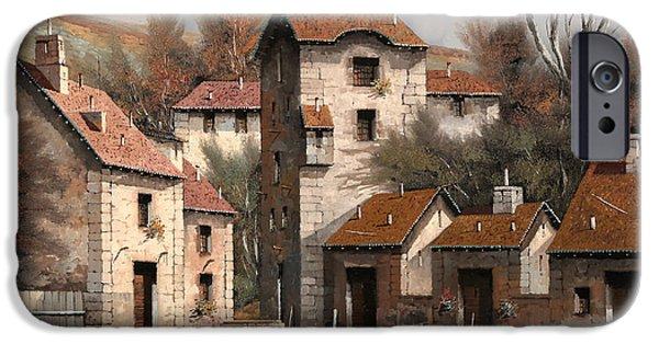 Village iPhone 6 Case - Aia Bianca by Guido Borelli