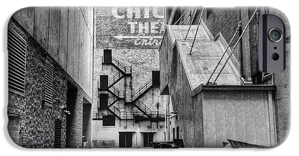 City iPhone 6 Case - Alley By The Chicago Theatre #chicago by Paul Velgos