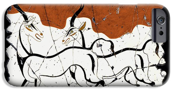 Bogdanoff iPhone 6 Case - Antelope Of Akrotiri by Steve Bogdanoff