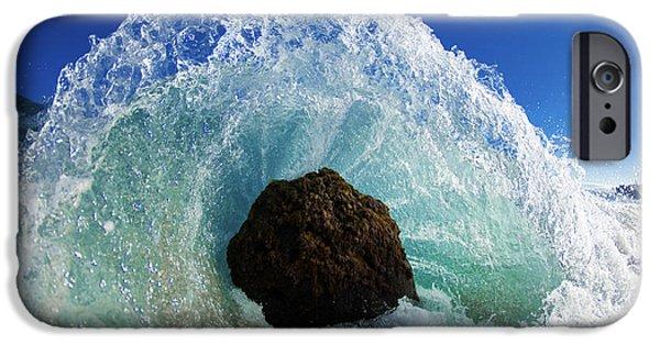 Ocean iPhone 6 Case - Aqua Dome by Sean Davey