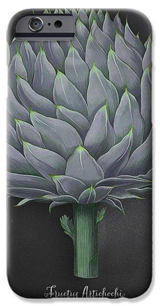 Artichoke Kitchen Art Print IPhone 6 Case