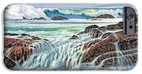 Pacific Ocean iPhone 6 Case - At Point Lobos by Paul Krapf