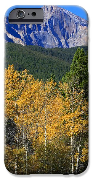 Autumn Aspens And Longs Peak IPhone 6 Case