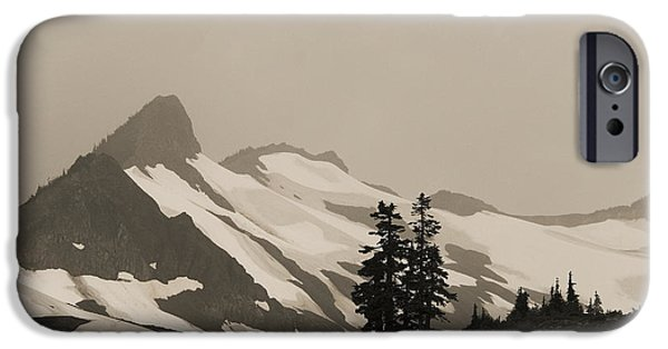 Fog In Mountains IPhone 6 Case by Yulia Kazansky