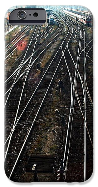 IPhone 6 Case featuring the photograph Bahnhof Cottbus by Marc Philippe Joly