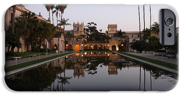 IPhone 6 Case featuring the photograph Balboa Park Reflection Pool by Nathan Rupert