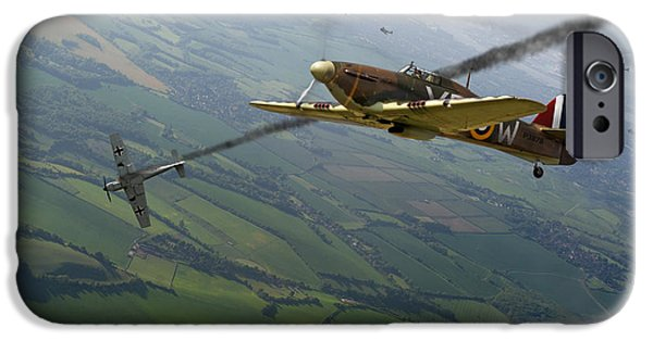 Battle Of Britain Dogfight IPhone 6 Case by Gary Eason