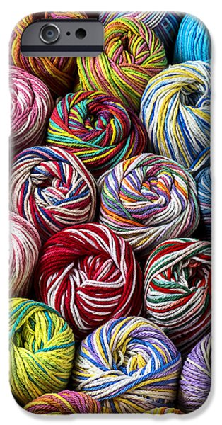 Colorful iPhone 6 Case - Beautiful Yarn by Garry Gay