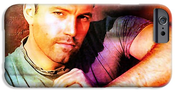 Ben Affleck IPhone 6 Case by Marvin Blaine