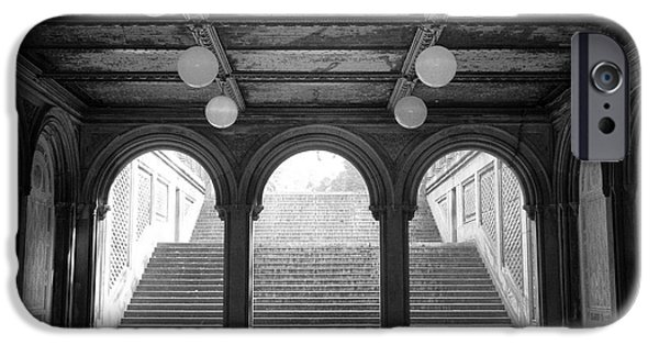 Bethesda Passage Central Park IPhone 6 Case by Dave Beckerman
