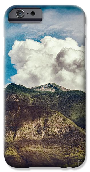 Big Clouds Over The Alps IPhone 6 Case by Silvia Ganora