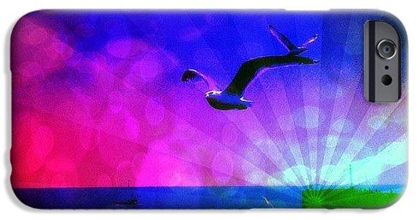 Edit iPhone 6 Case - Birds by Chris Drake