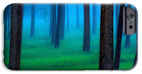 Landscapes iPhone 6 Case - Black Hills Forest by Kadek Susanto