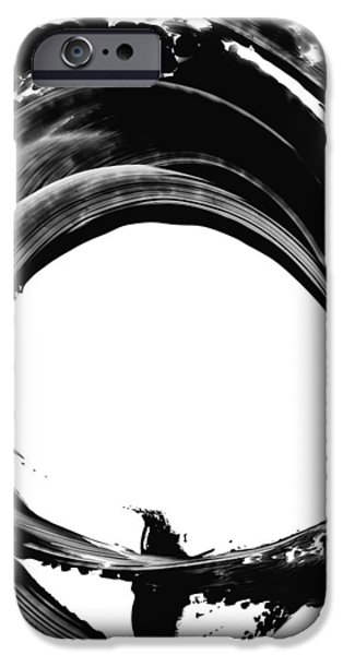 Abstract iPhone 6 Case - Black Magic 304 By Sharon Cummings by Sharon Cummings
