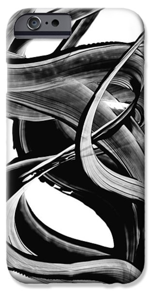 Abstract Print iPhone Cases - Black Magic 314 by Sharon Cummings iPhone Case by Sharon Cummings