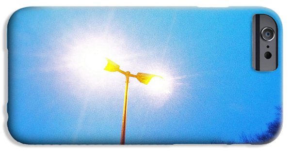 Bright iPhone 6 Case - Blue Morning - Bright Beam Of Light by Matthias Hauser