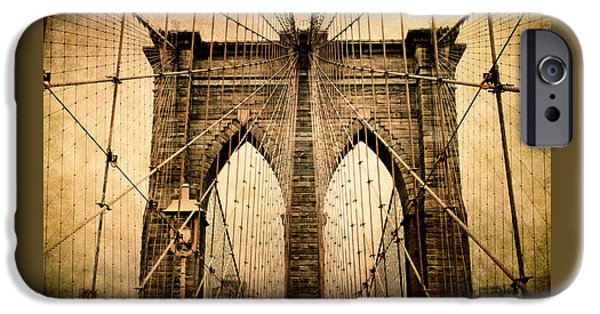 Brooklyn Bridge Nostalgia IPhone 6 Case by Jessica Jenney