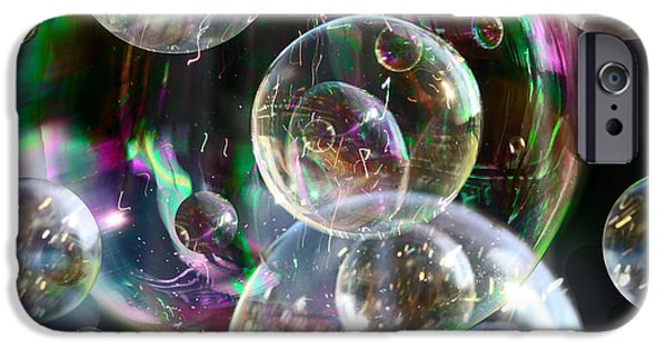 IPhone 6 Case featuring the photograph Bubbles And More Bubbles by Nareeta Martin