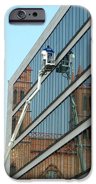 IPhone 6 Case featuring the photograph Building New by Marc Philippe Joly