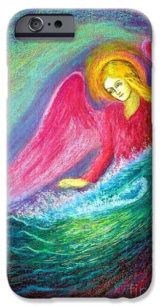 Figurative iPhone 6 Case - Calming Angel by Jane Small