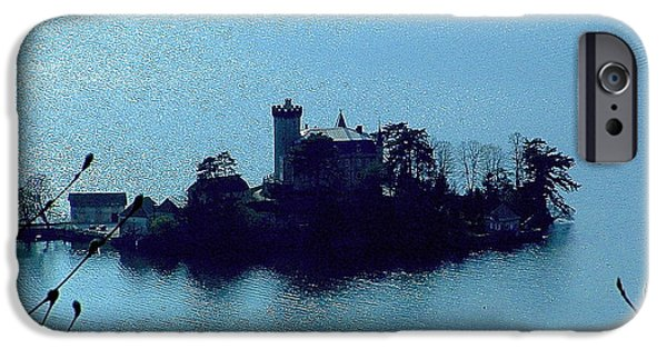 IPhone 6 Case featuring the photograph Chateau Sur Lac by Marc Philippe Joly