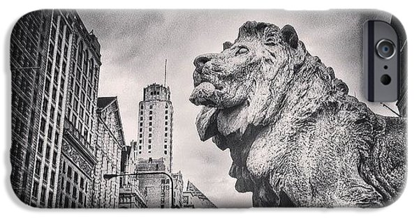 Art Institute Of Chicago Lion Picture IPhone 6 Case