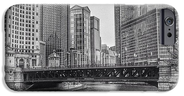 City iPhone 6 Case - #chicago #blackandwhite #urban by Paul Velgos