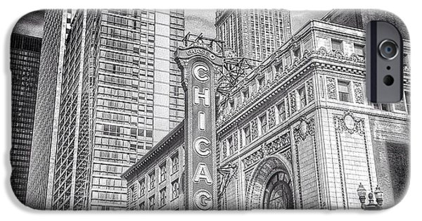 City iPhone 6 Case - #chicago #chicagogram #chicagotheatre by Paul Velgos