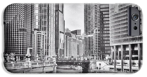 City iPhone 6 Case - #chicago #cityscape #chicagoriver by Paul Velgos