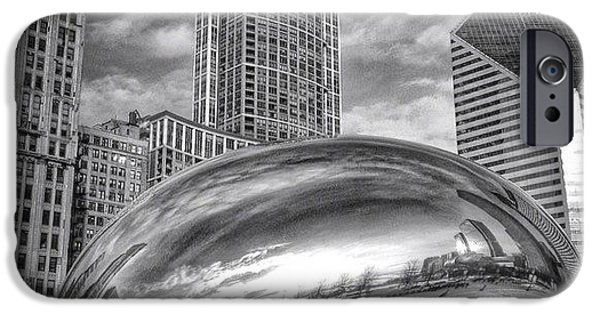 Chicago Bean Cloud Gate Hdr Picture IPhone 6 Case