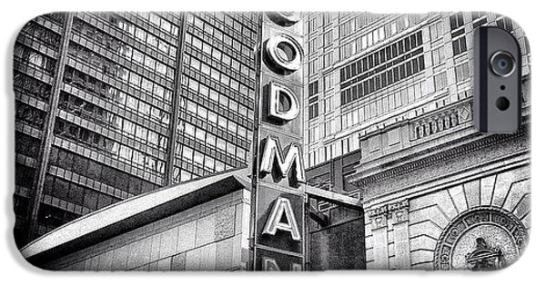 Chicago Goodman Theatre Sign Photo IPhone 6 Case