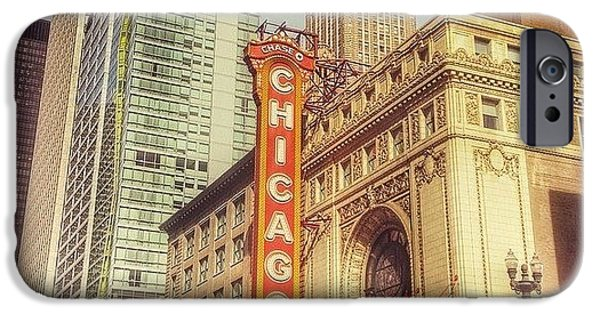 City iPhone 6 Case - Chicago Theatre #chicago by Paul Velgos