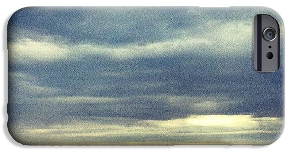 Sky iPhone 6 Case - Chilly Morning by Jill Tuinier