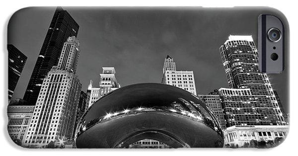 Cloud Gate And Skyline IPhone 6 Case by Adam Romanowicz