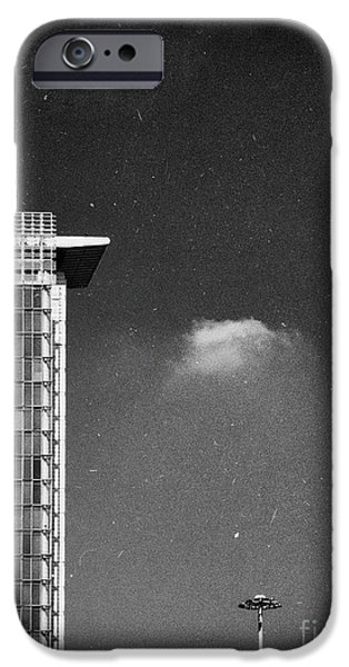 IPhone 6 Case featuring the photograph Cloud Lamp Building by Silvia Ganora