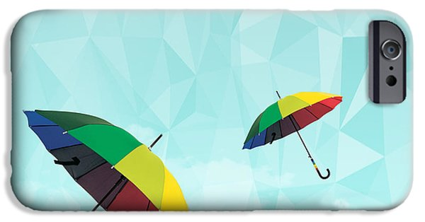 Dissing iPhone 6 Case - Colorful Day by Mark Ashkenazi