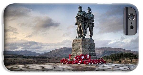 Commando Memorial At Spean Bridge IPhone 6 Case by Gary Eason