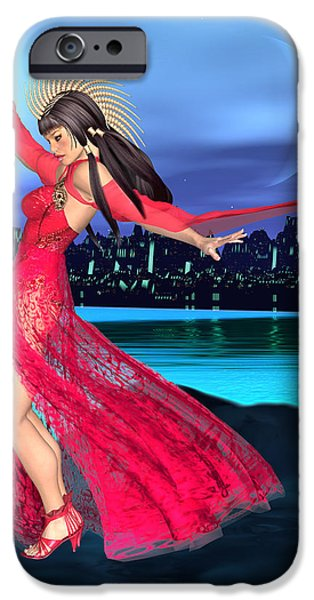 Luxmaris iPhone 6 Case - Conjunction by Renate Janssen