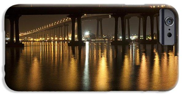 Coronado Bridge At Night IPhone 6 Case by Nathan Rupert