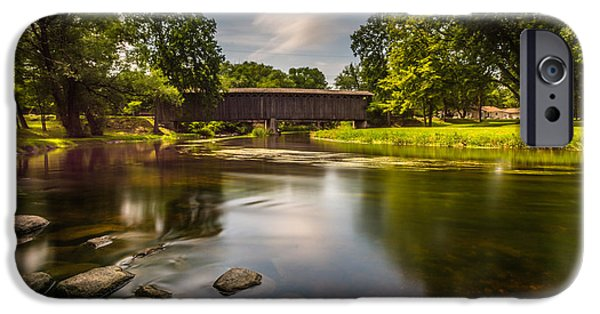 Covered Bridge Long Exposure IPhone 6 Case