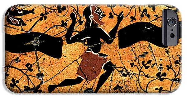 Bogdanoff iPhone 6 Case - Dancing Man - Study No. 1 by Steve Bogdanoff
