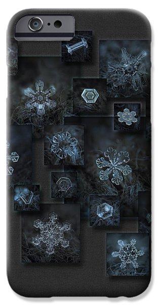 Snowflake Collage - Dark Crystals 2012-2014 IPhone 6 Case