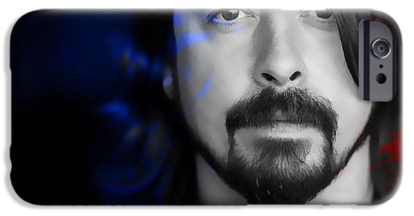 Dave Grohl IPhone 6 Case by Marvin Blaine