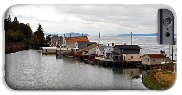 IPhone 6 Case featuring the photograph Day Island Bridge View 1 by Anthony Baatz