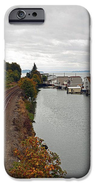 IPhone 6 Case featuring the photograph Day Island Bridge View 2 by Anthony Baatz