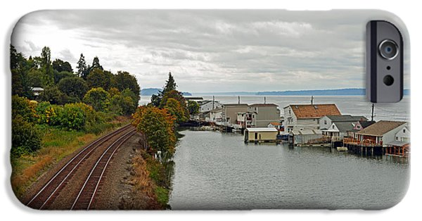 IPhone 6 Case featuring the photograph Day Island Bridge View 3 by Anthony Baatz