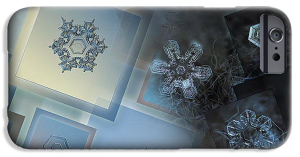 Snowflake Collage - Daybreak IPhone 6 Case